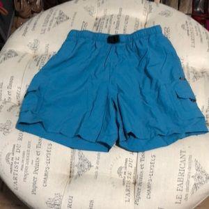 Columbia blue shorts size medium